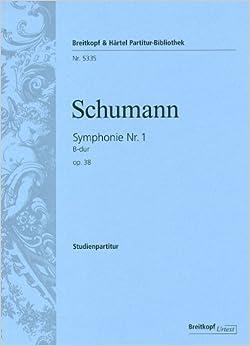 シューマン: 交響曲 第1番 変ロ長調 Op.38 「春」/ブライトコップ & ヘルテル社/小型スコア