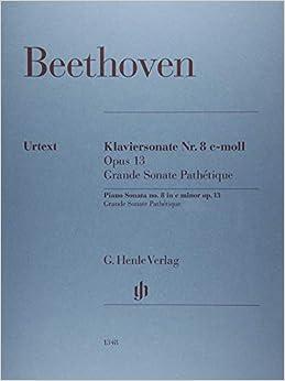ベートーヴェン: ピアノ・ソナタ 第8番 ハ短調 Op.13