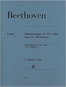 ベートーヴェン: ピアノ・ソナタ 第21番 ハ長調 Op.53 「ワルトシュタイン」/原典版/Gertsch/Perahia編/ヘンレ社/ピアノ・ソロ