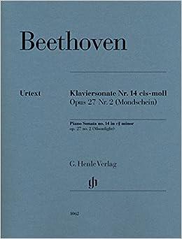 ベートーヴェン: ピアノ・ソナタ 第14番 嬰ハ短調 Op.27/2 「月光」/Perahia,Gertsch編/ヘンレ社/ピアノ・ソロ