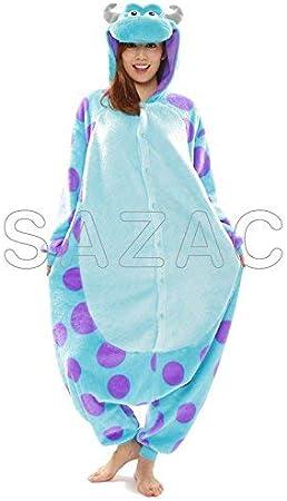 Amazon Sazac サザック 着ぐるみ 大人用 フリース Disney モンスターズインク サリー コスプレ 仮装 通販