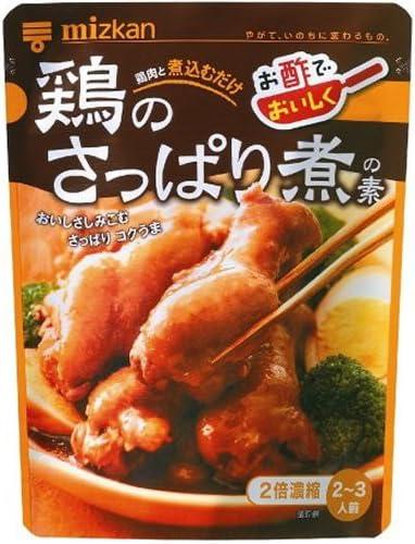 ミツカン さっぱり 煮 鶏 の 鶏のさっぱり煮〜ミツカン酢で レシピ・作り方