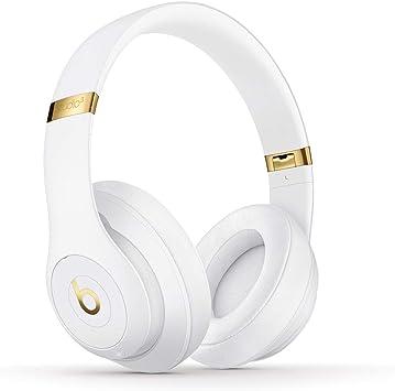 Beats Studio3 Wirelessオーバーイヤーヘッドフォン - ホワイト