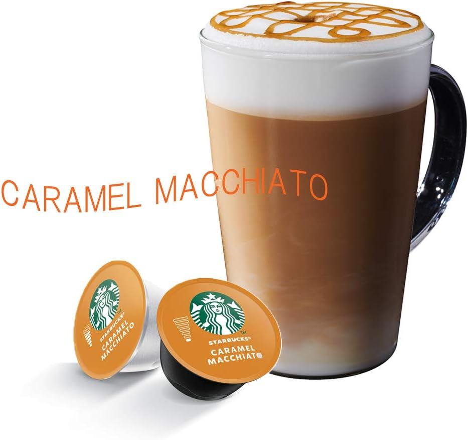 Amazon スターバックス キャラメルマキアート ネスカフェ ドルチェ グスト 専用カプセル 12p Starbucks スターバックス 食品 飲料 お酒 通販