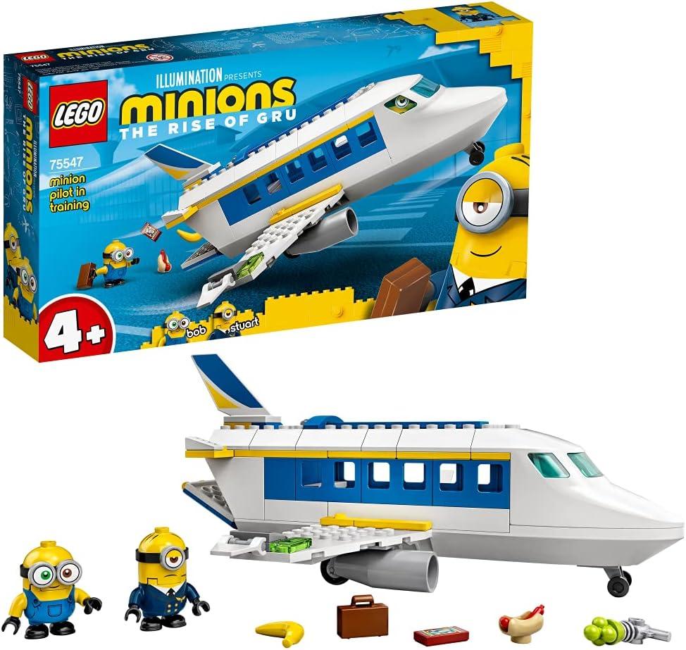 レゴ(LEGO) ミニオンズ 研修中のミニオンパイロット 75547