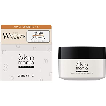 ロゼット Skin mania セラミド 高保湿クリーム 80g [フェイスクリーム] Wセラミド配合 乾燥肌 敏感肌 保湿