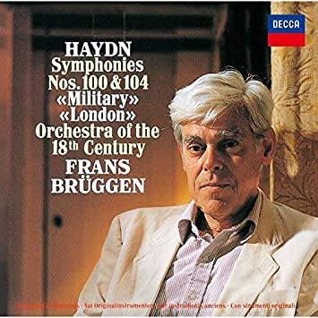 ハイドン:交響曲第100番「軍隊」&第104番「ロンドン」