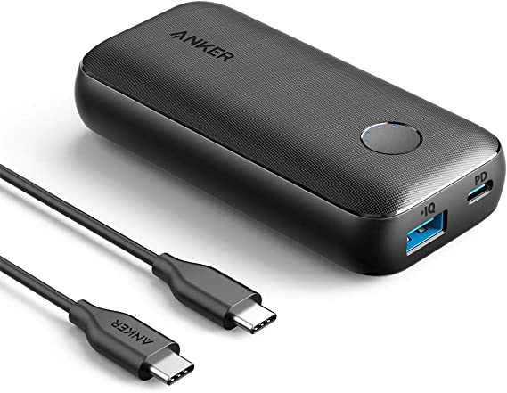 Anker PowerCore 10000 PD Redux(モバイルバッテリー 10000mAh 大容量)【PSE認証済 / Power Delivery対応 /低電流モード搭載】 iPhone & Android 各種対応