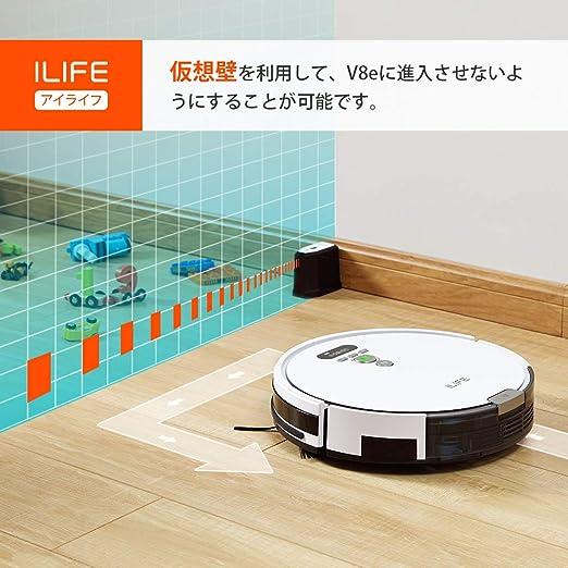 アイ ライフ v8e ルンバよりおすすめ。ロボット掃除機 ILIFE V8e...