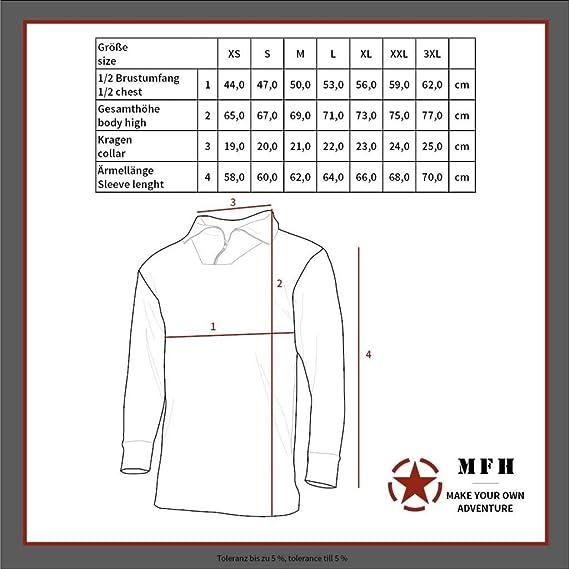 GEN III MFHHighDefence US Unterhemd Level I Oliv