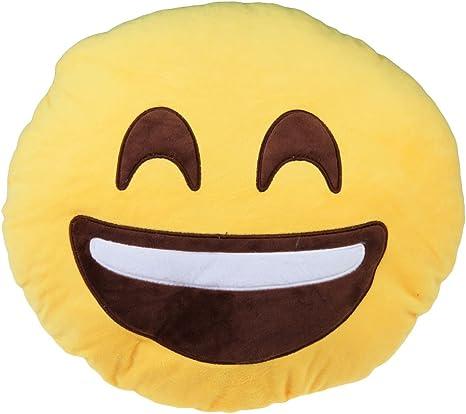 Amazon Vktech超可愛いぬいぐるみ 顔文字クッション 絵文字まくら スマイリーフェイス抱き枕 ちょい寝 ホーム装飾 全13種類 へらへら笑う 抱き枕 オンライン通販