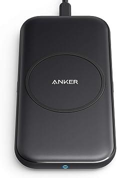 Anker PowerWave Base Pad (5W / 7.5W / 10W Qi ワイヤレス急速充電器) Qi対応 iPhone 11 / 11 Pro / 11 Pro Max/SE (第2世代) / XS/XS Max/XR/X / 8 / 8 Plus/Galaxy/Note/LG 互換対応 ブラック