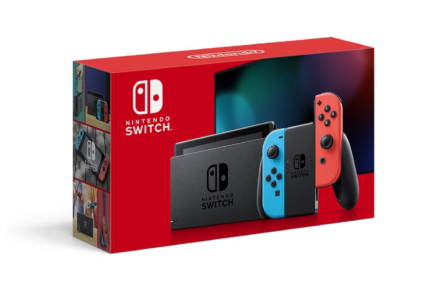 『Nintendo Switch ネオンブルー・ネオンレッド』『Nintendo Switch グレー』の抽選販売【Nintendo TOKYO】