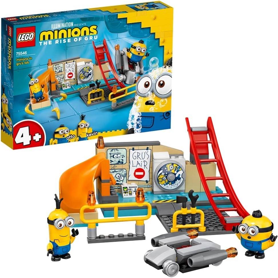 レゴ(LEGO) ミニオンズ グルーのラボで働くミニオン 75546