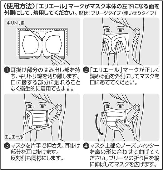 マスク 折り目 向き