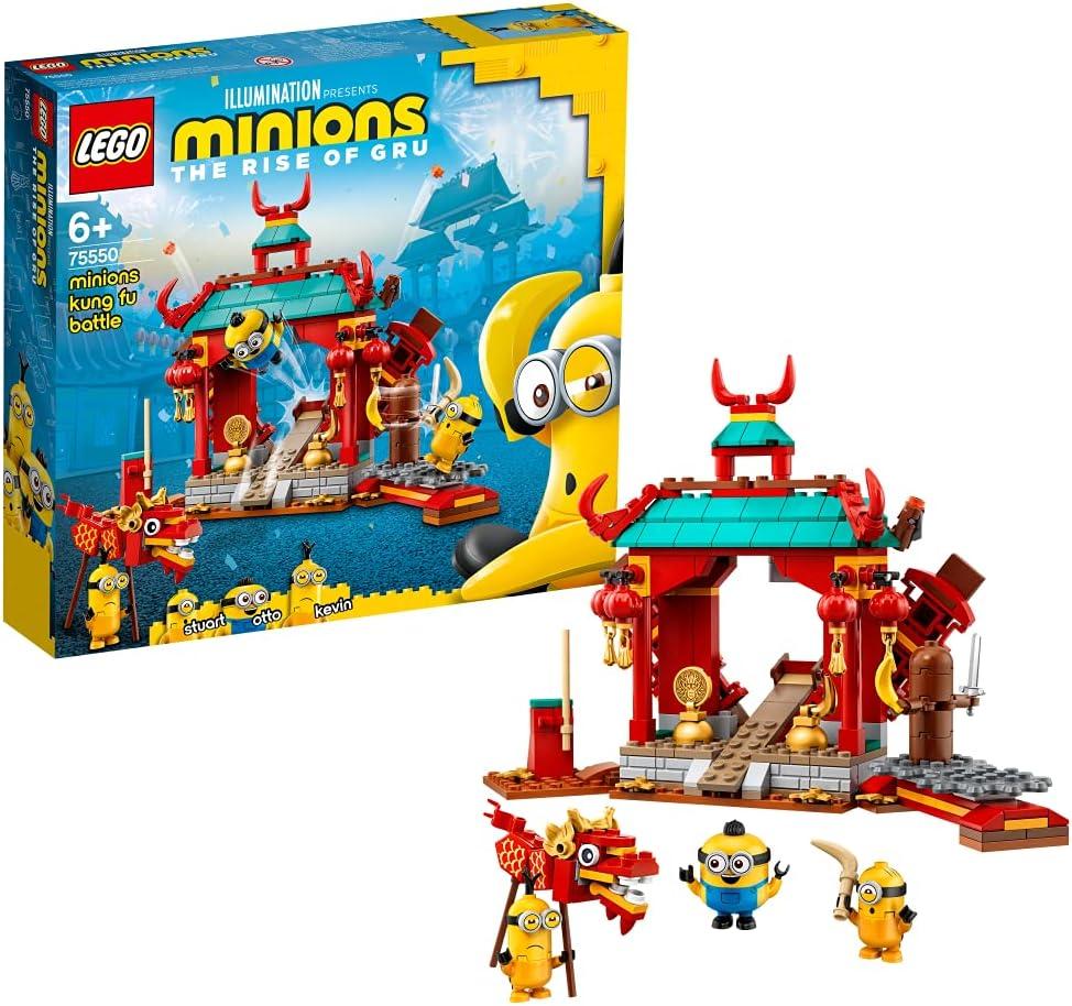 レゴ(LEGO) ミニオンズ ミニオンズのカンフーバトル 75550