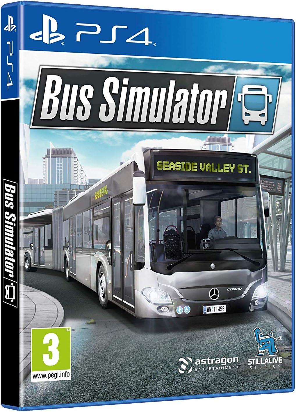 バス シミュレーター ps4 Bus Simulator - PlayStation