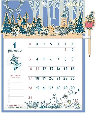 ムーミン カレンダー 2021
