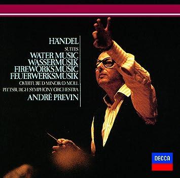 ヘンデル:「水上の音楽」「王宮の花火の音楽」組曲