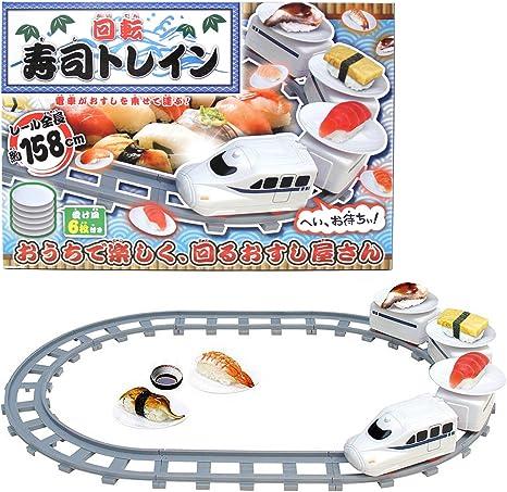 寿司 プラレール プラレールで【回転寿司ごっこ】が意外と楽しい!