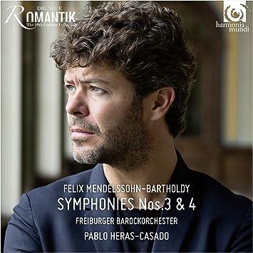 メンデルスゾーン : 交響曲 第3番 「スコットランド」 | 交響曲 第4番 「イタリア」 (Felix Mendelssohn-Bartholdy : Symphonies Nos.3 & 4 / Freiburger Barockorchester, Pablo Heras-Casado) [CD] [輸入盤] [日本語帯・解説付]
