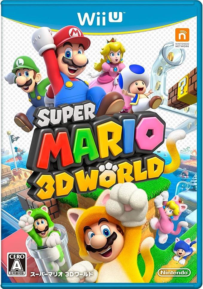 Switch マリオ 3d ワールド マリオ3D+Furyワールドの操作方法まとめ【Switch】