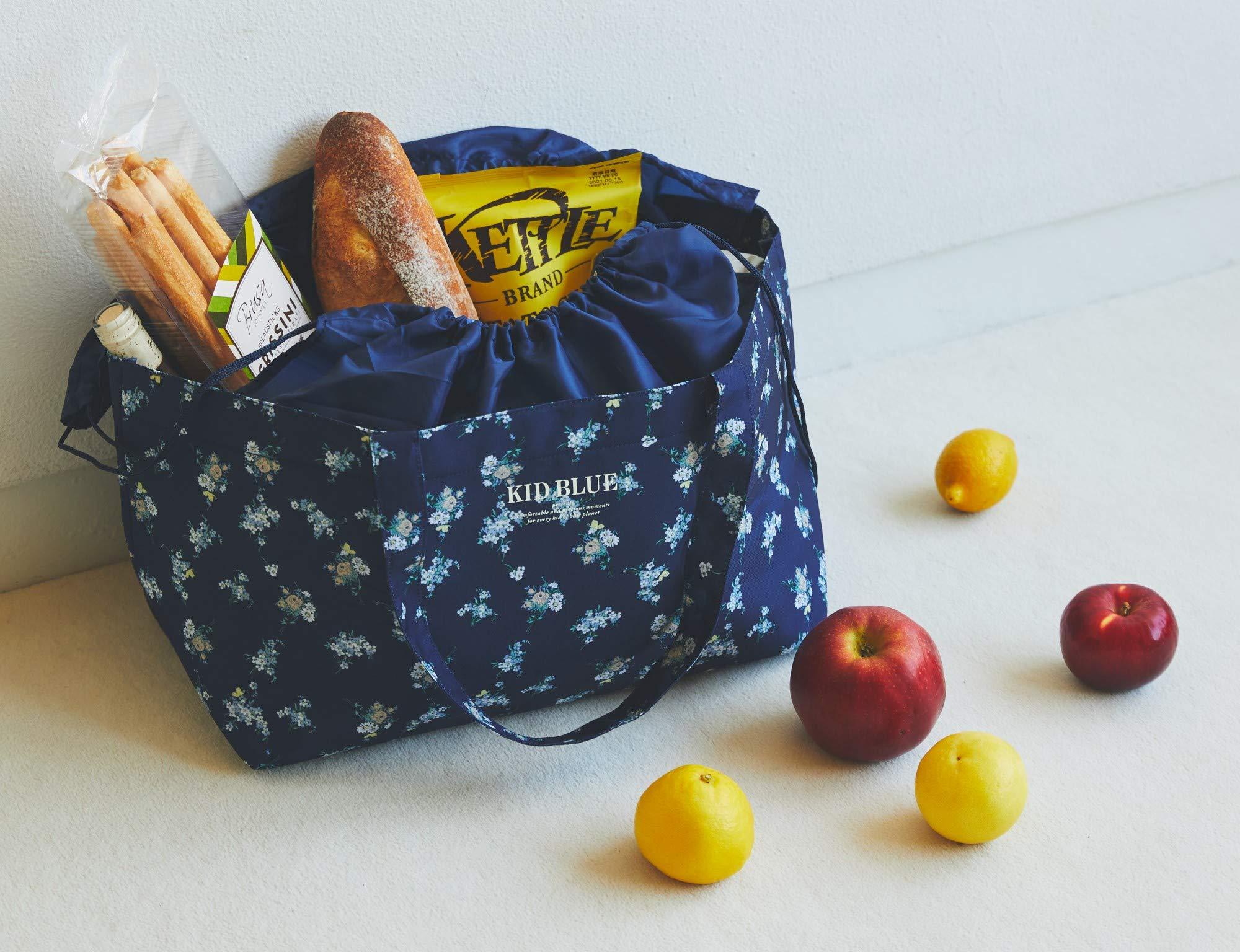 【KID BLUE(キッドブルー) ムック本 2021】保冷ができるレジカゴサイズのショッピングバッグが好評発売中♡
