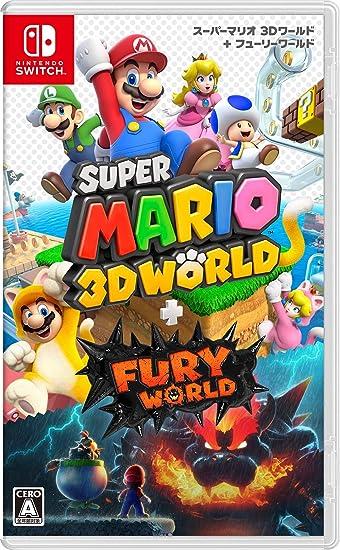 Switch マリオ 3d ワールド スーパーマリオ 3Dワールド + フューリーワールド