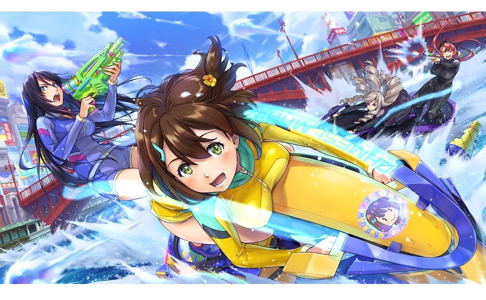 神田 川 ジェット ガール PS4『神田川JET GIRLS(ジェットガールズ)』